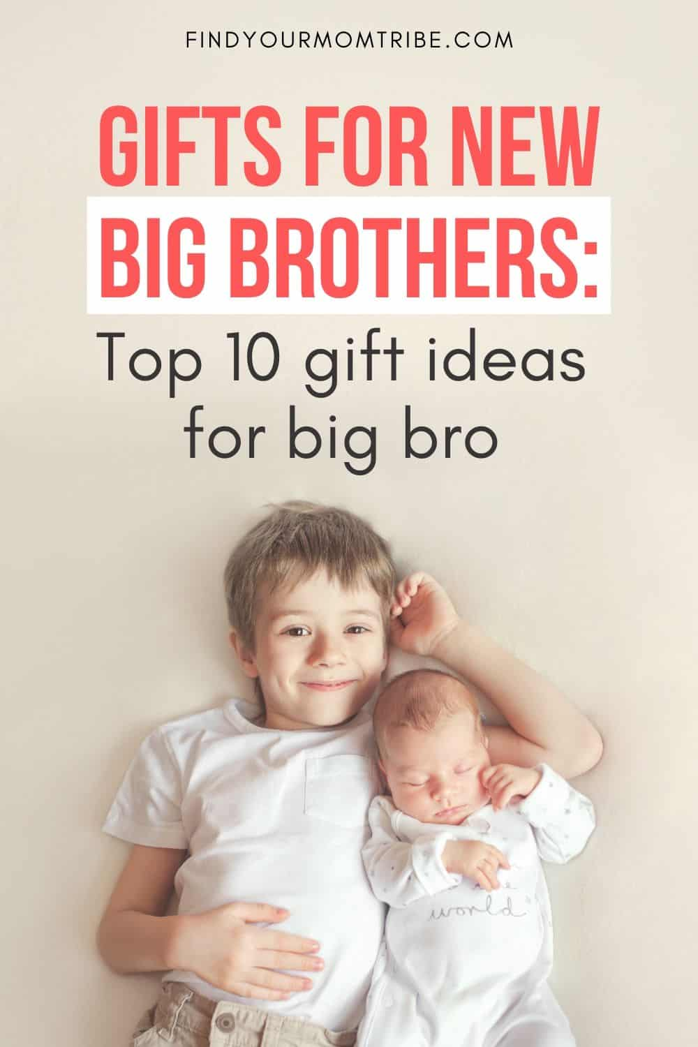 Pinterest Gifts For New Big Brothers