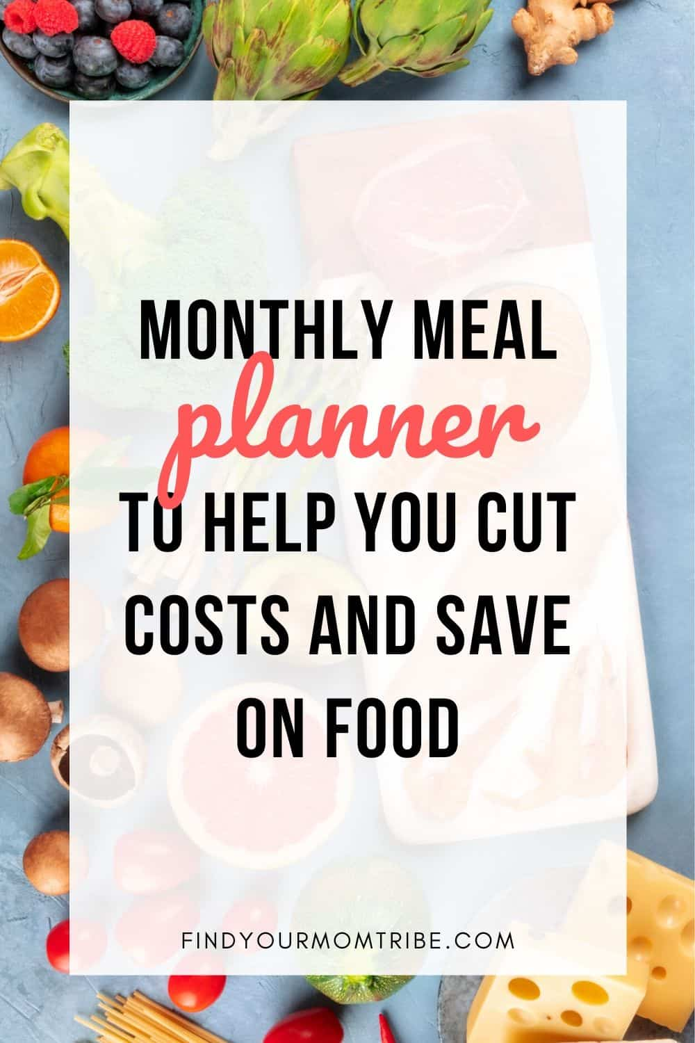 Pinterest Monthly Meal Planner