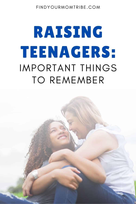 Pinterest Raising Teenagers