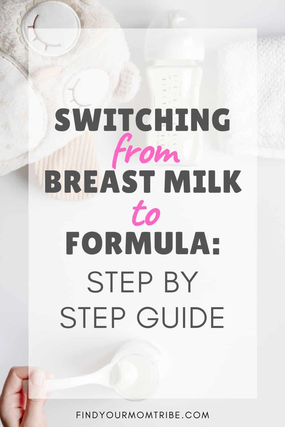 Switching From Breast Milk To Formula