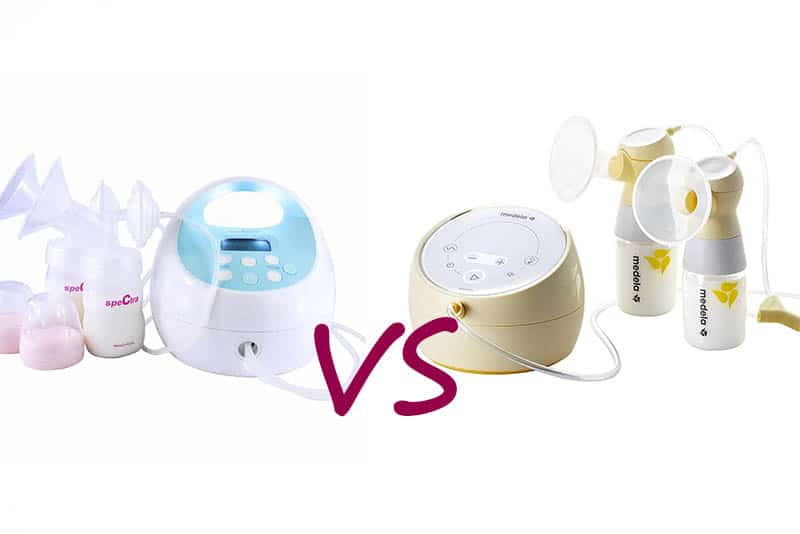 Spectra Vs Medela breast pump