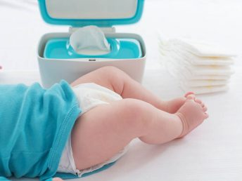 blue baby wipe warmer