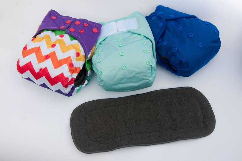 reusable cotton baby diapers with buttons