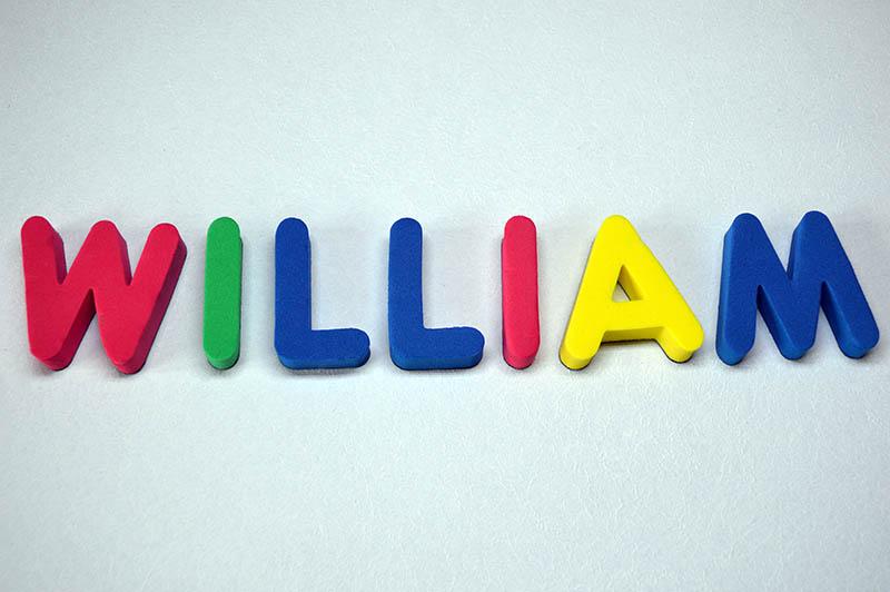 william boy name