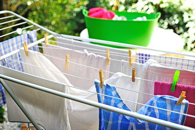 Drying Rack or Clothesline to Dry Your Clothes