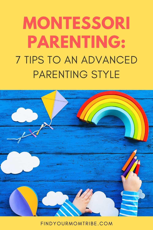 Montessori Parenting Pinterest
