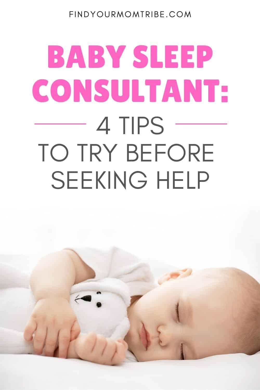 Pinterest Baby Sleep Consultant