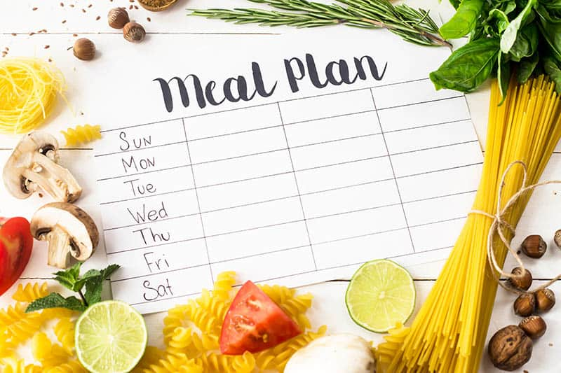 meal planning for frugal living