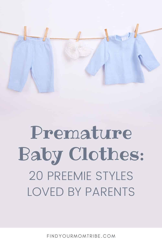 Premature Baby Clothes Pinterest