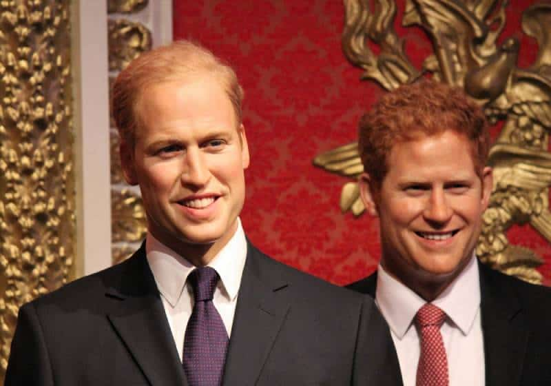 Prince Harry and Prince William siblings