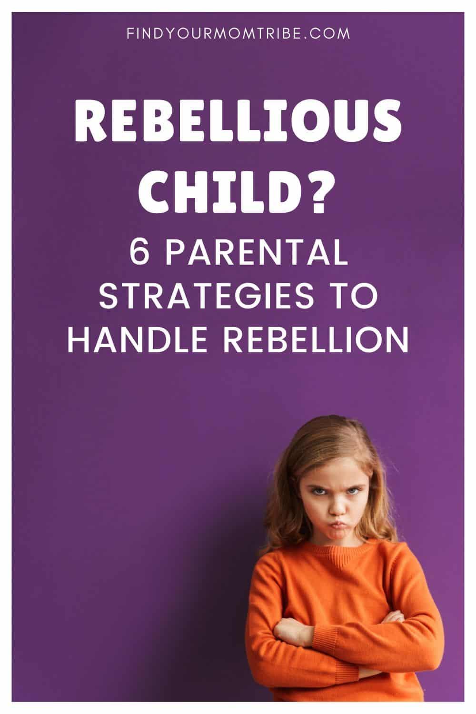 Rebellious Child Pinterest