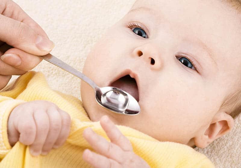 baby taking gripe water