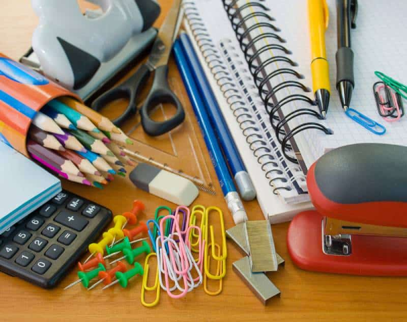 back to school - office supplies