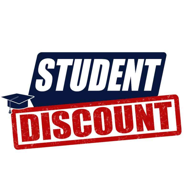 student discount for school supplies