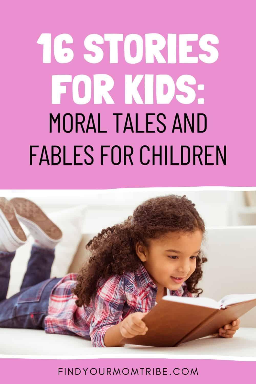 16 Stories For Kids Pinterest