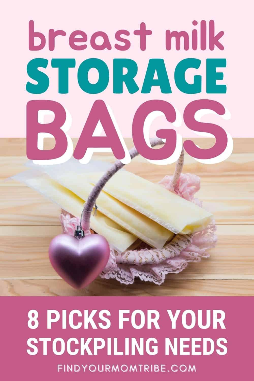 Breast Milk Storage Bags Pinterest