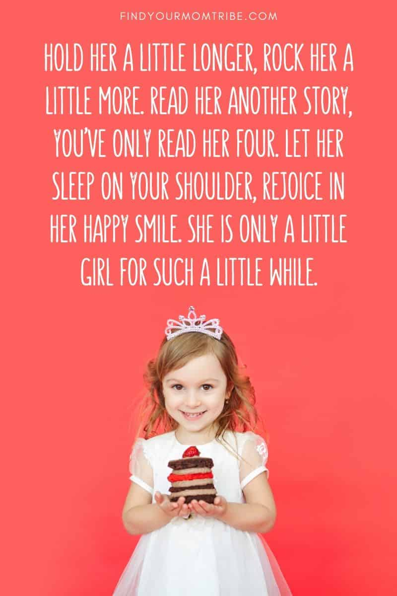 She is only a little girl for such a little while quote