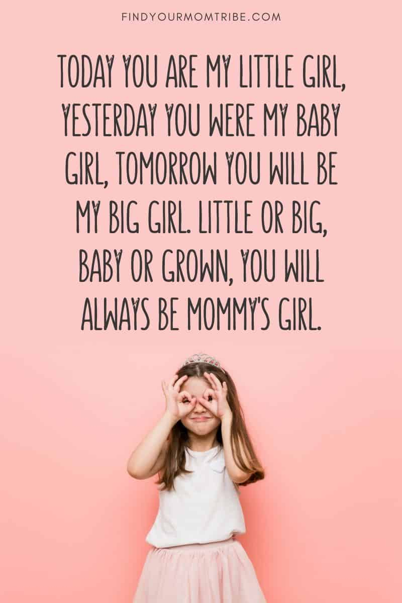 Mommy's girl quote