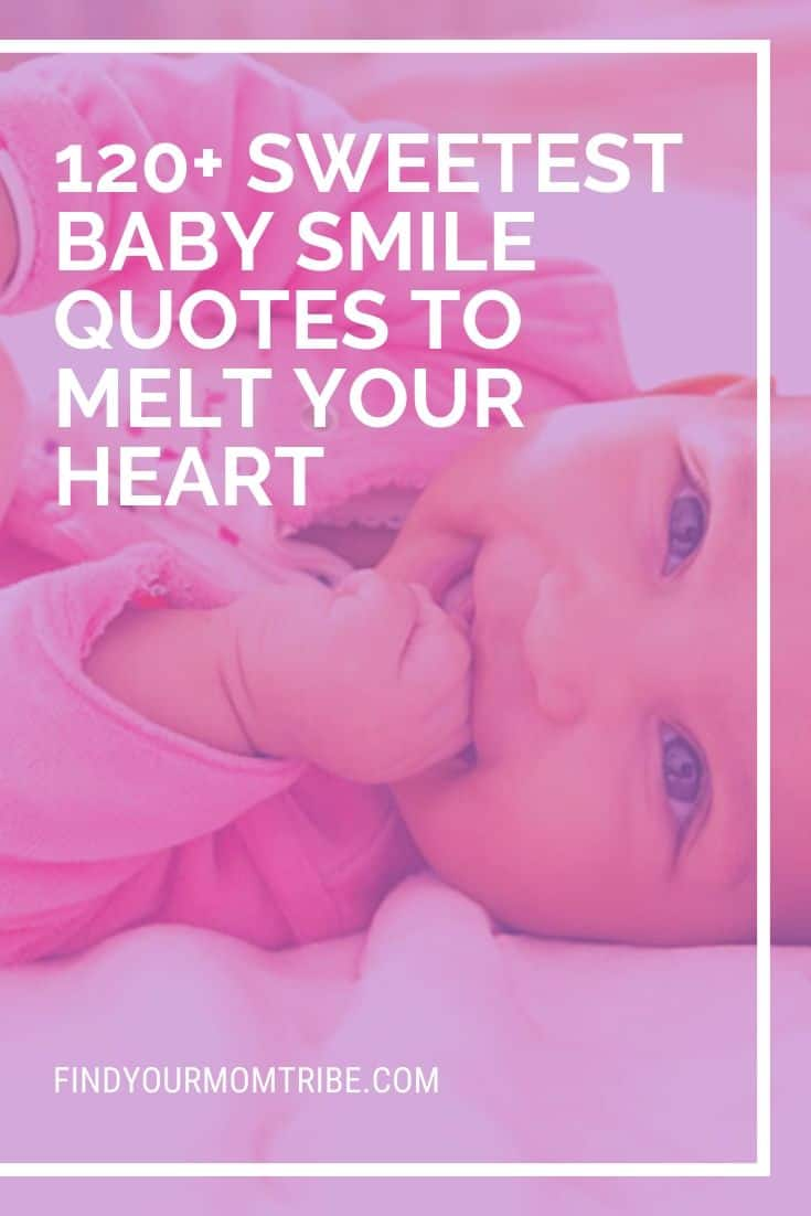 Sweetest Baby Smile Quotes - pinterest
