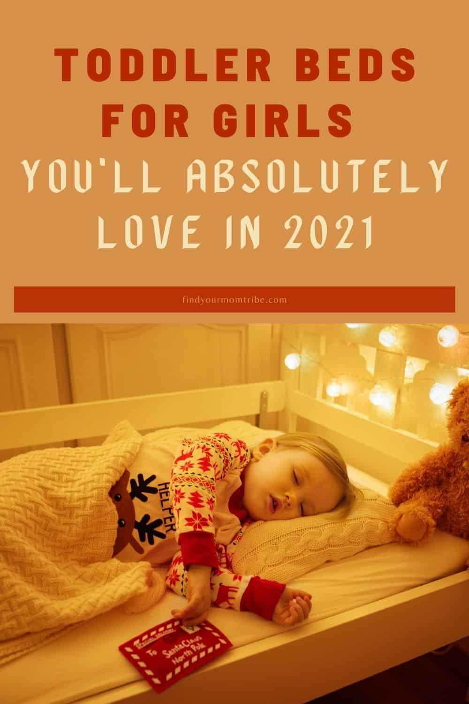 pinterest girl toddler bed