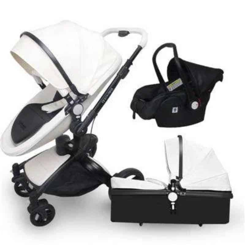 From Infancy To Toddler Years: The 8 Best 3 In 1 Baby Strollers
