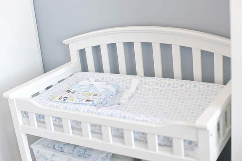baby crib mattress white