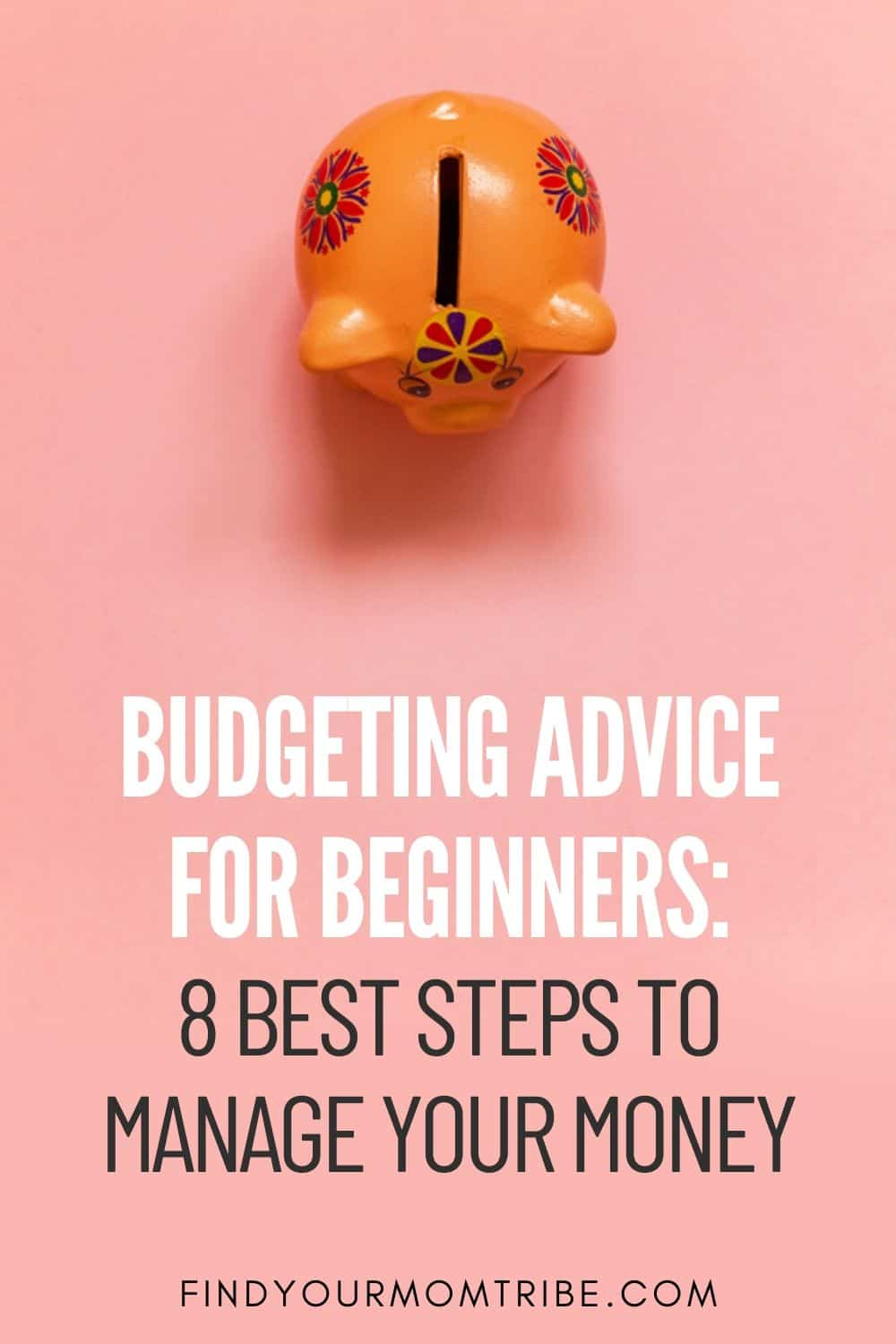 Budgeting Advice For Beginners_ 8 Best Steps To Manage Your Money Pinterest