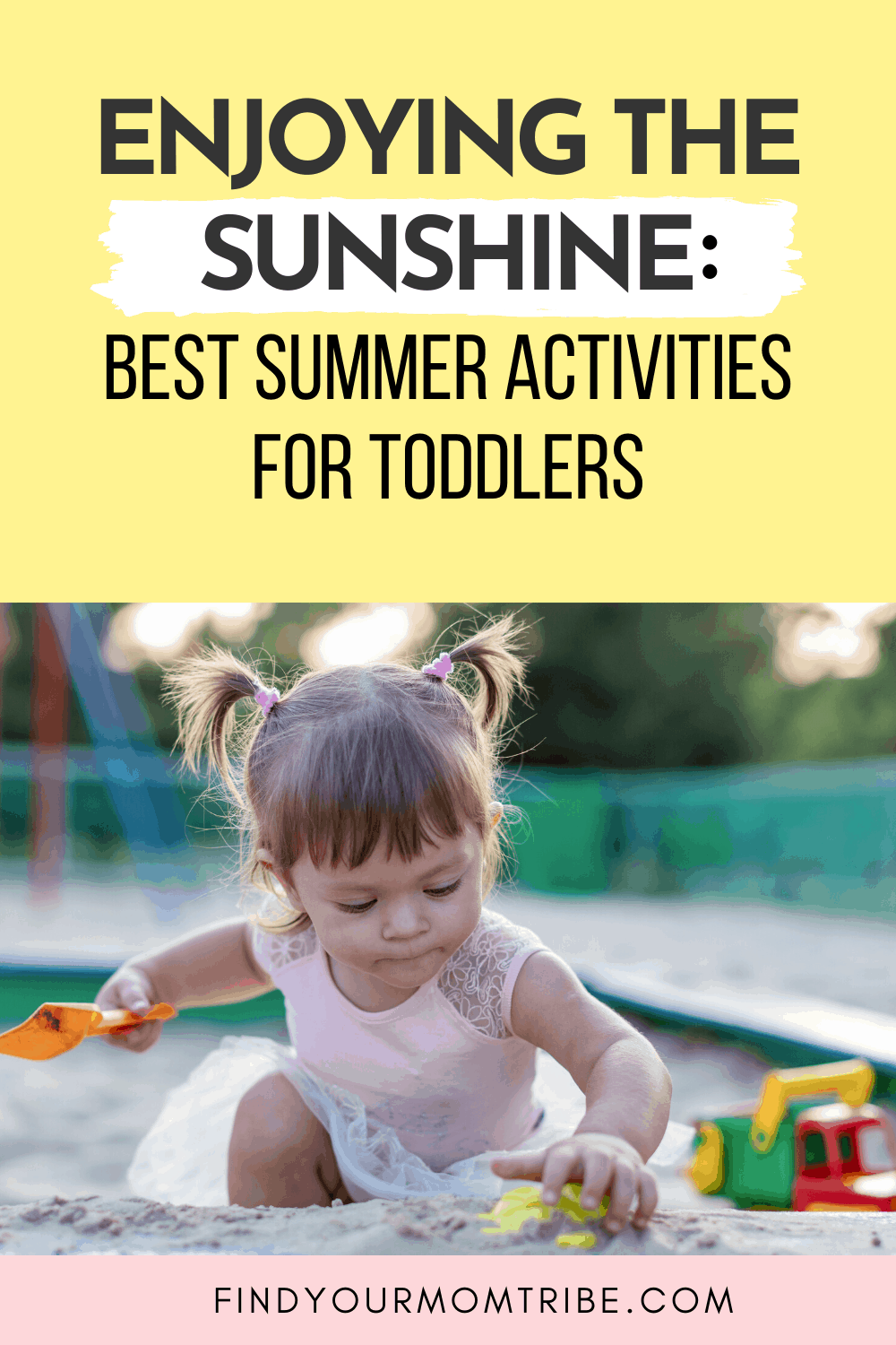 Pinterest summer activities for toddlers