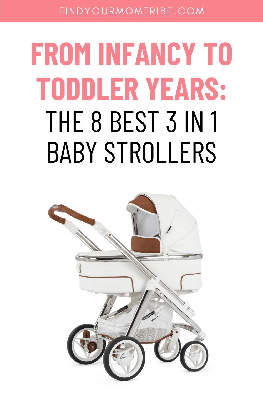 Pinterest 3 in 1 baby stroller