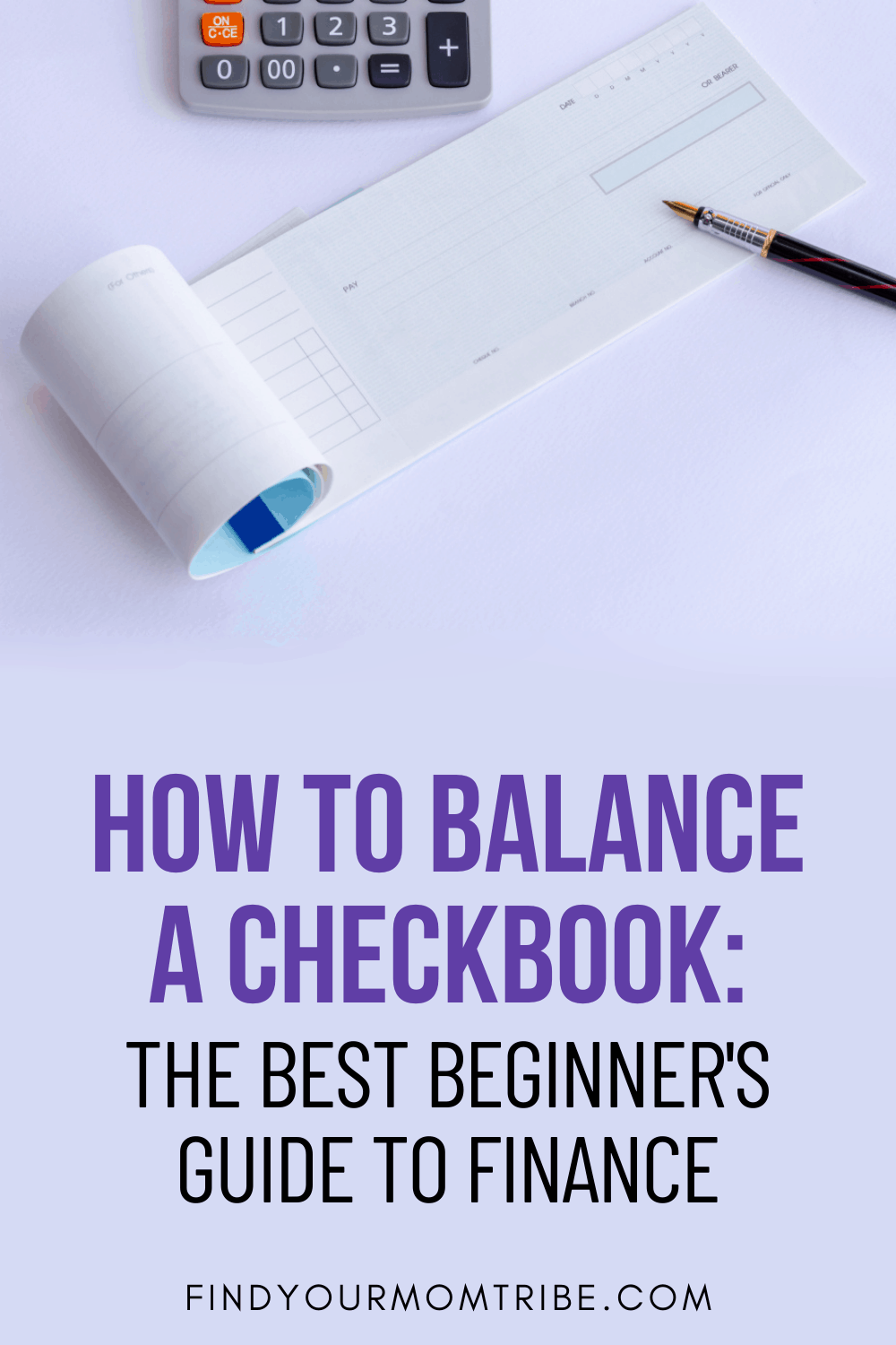Pinterest how to balance a checkbook