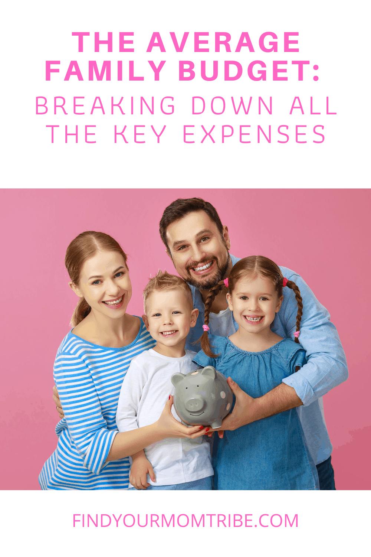 Pinterest average family budget