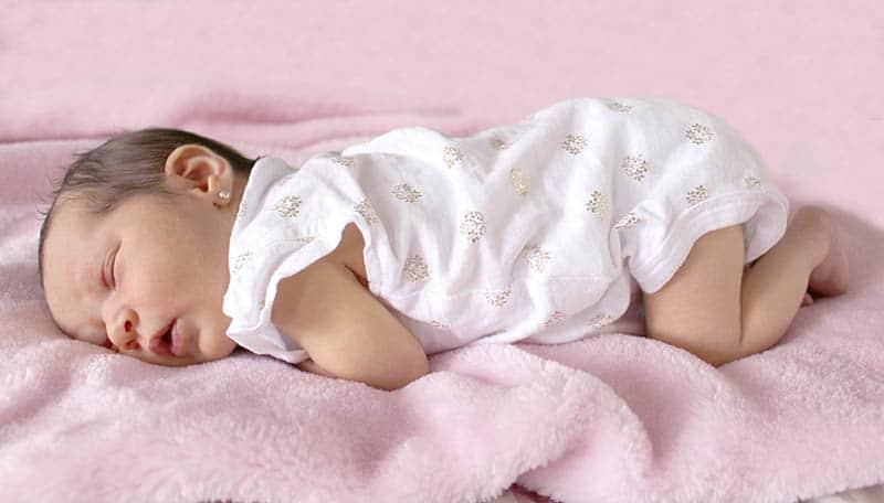 baby sleeping wedge