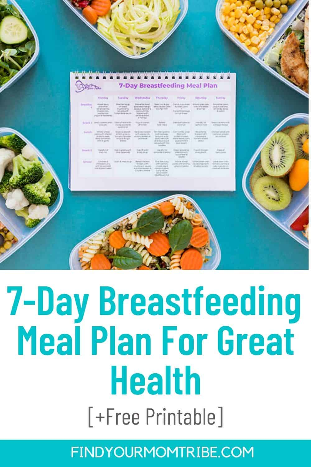 Breastfeeding Meal Plan For Great Health