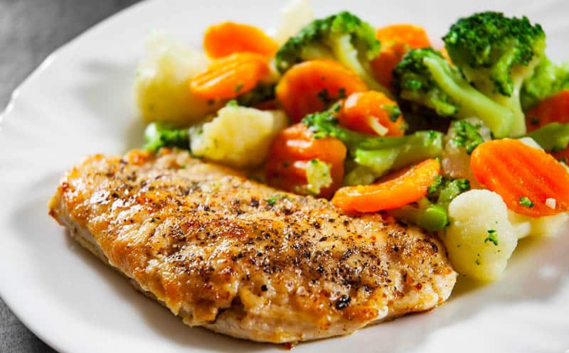 Veggies and Chicken Breast
