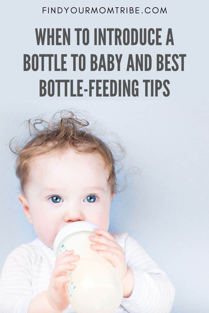 When To Introduce A Bottle To Baby And Best Bottle-Feeding Tips Pinterest