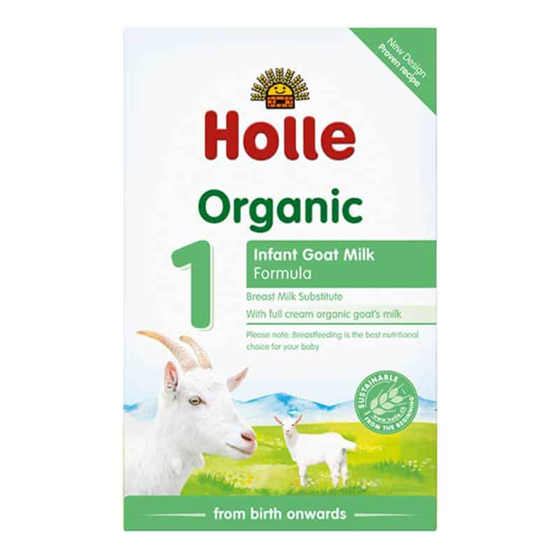 holle organic infant goat milk baby formula