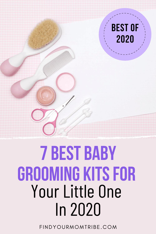 Pinterest baby grooming kit