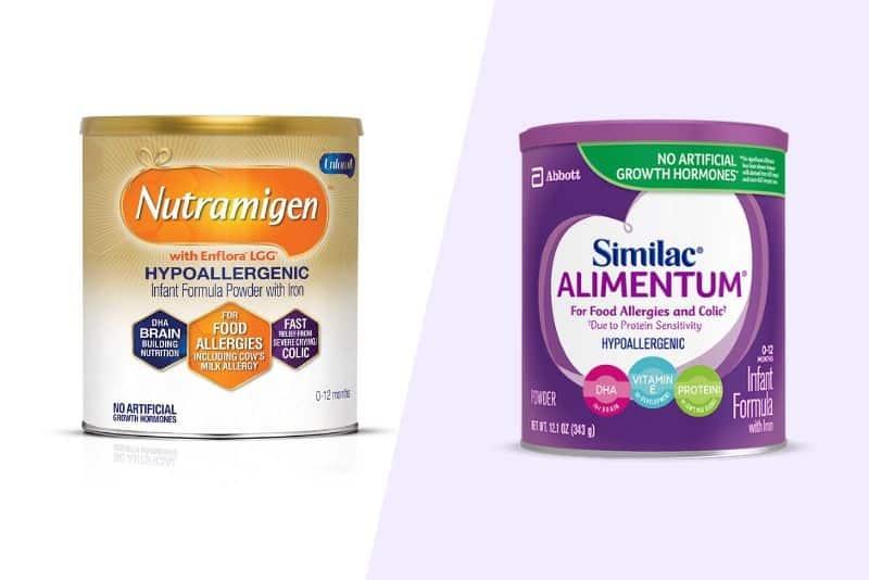 Nutramigen vs Similac Alimentum formula