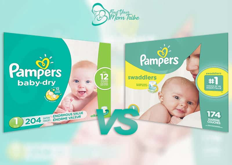 Pampers Swaddlers Vs Baby Dry Diapers: Which One Is Better?