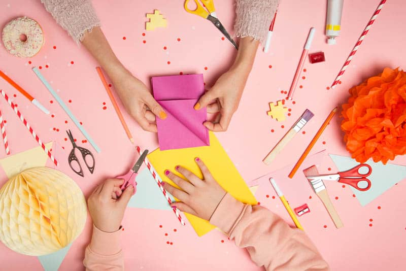 6 Fun and Easy Paper Crafts For Kids To Keep Them Busy All Day