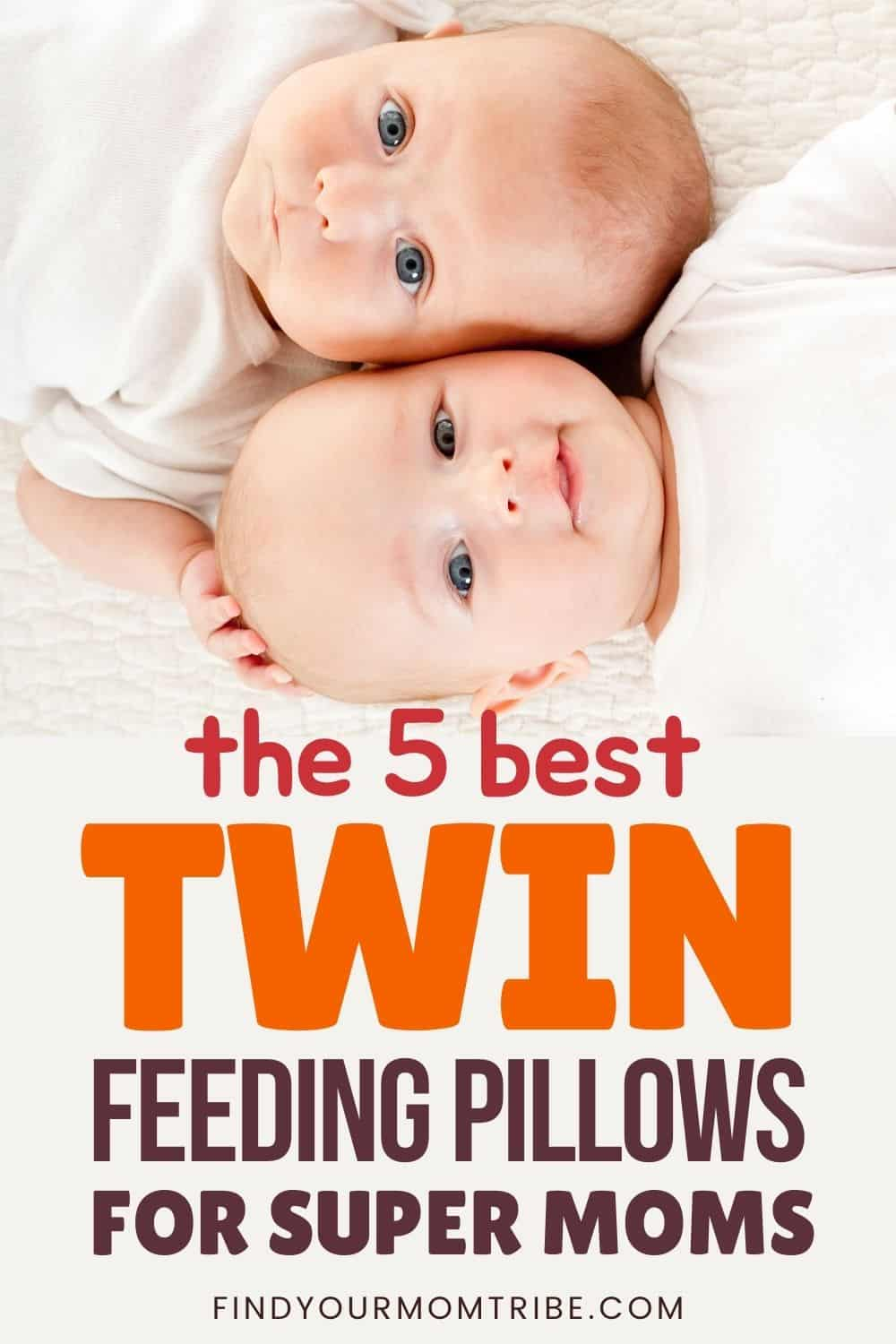 The 5 Best Twin Feeding Pillows For Super Moms