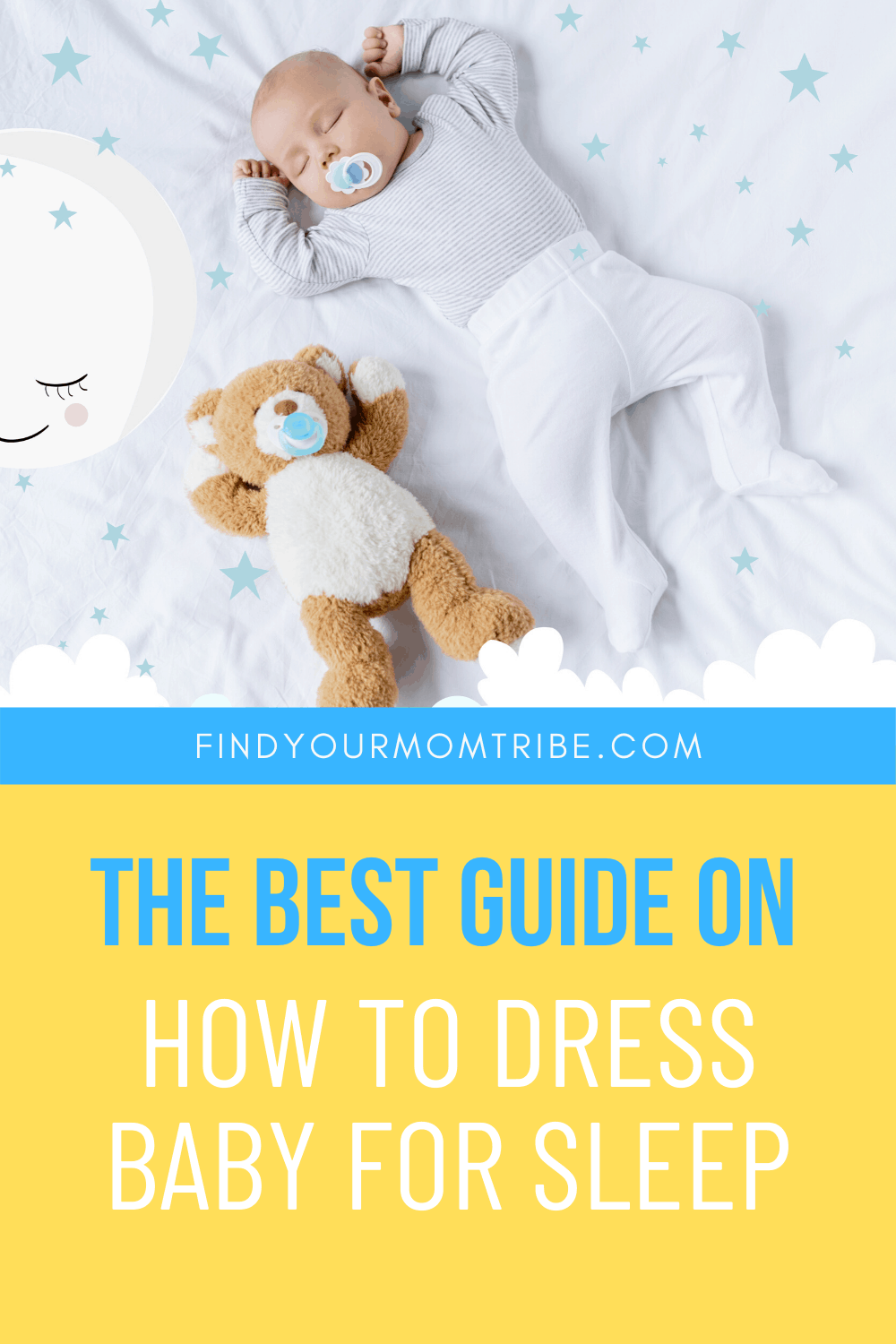 Pinterest how to dress baby for sleep