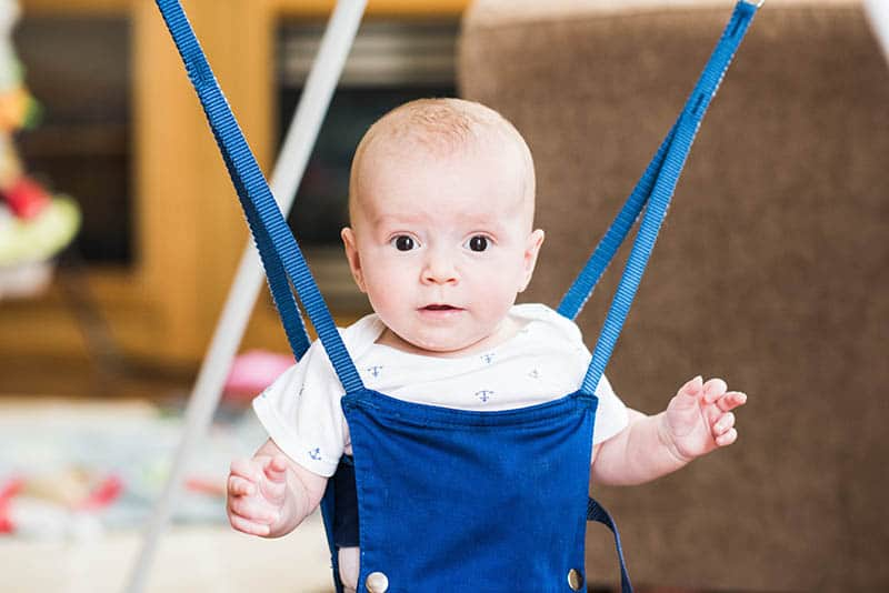 What Is The Perfect Age For A Baby Jumper?
