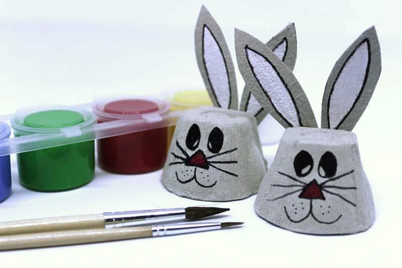 Egg carton animals