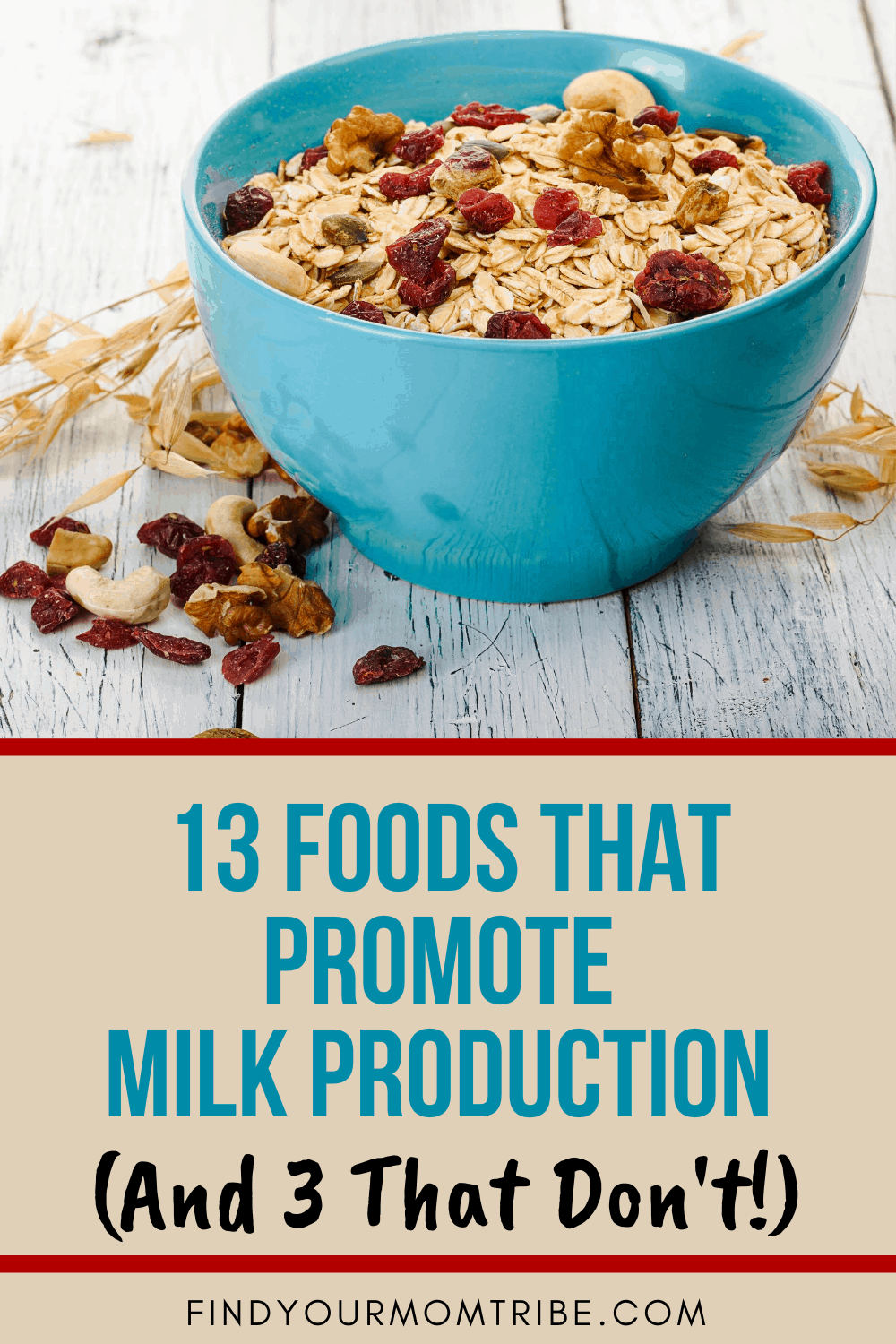 Pinterest foods that promote milk production