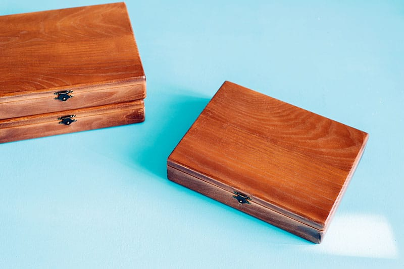 handmade boxes for pictures