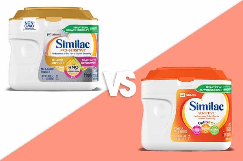 Similac Sensitive Vs Pro Sensitive: Which Formula Is Better?