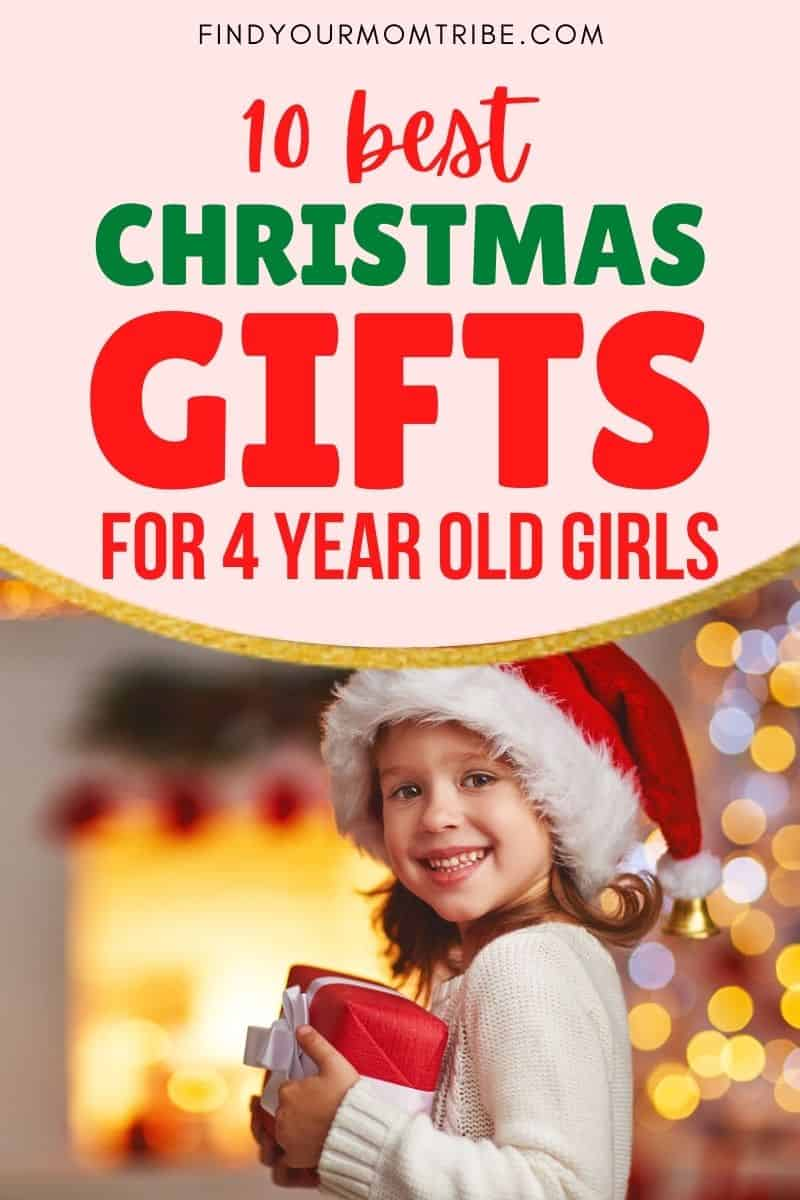 10 Best Christmas Gifts For 4 Year Old Girls In 2020 Pinterest