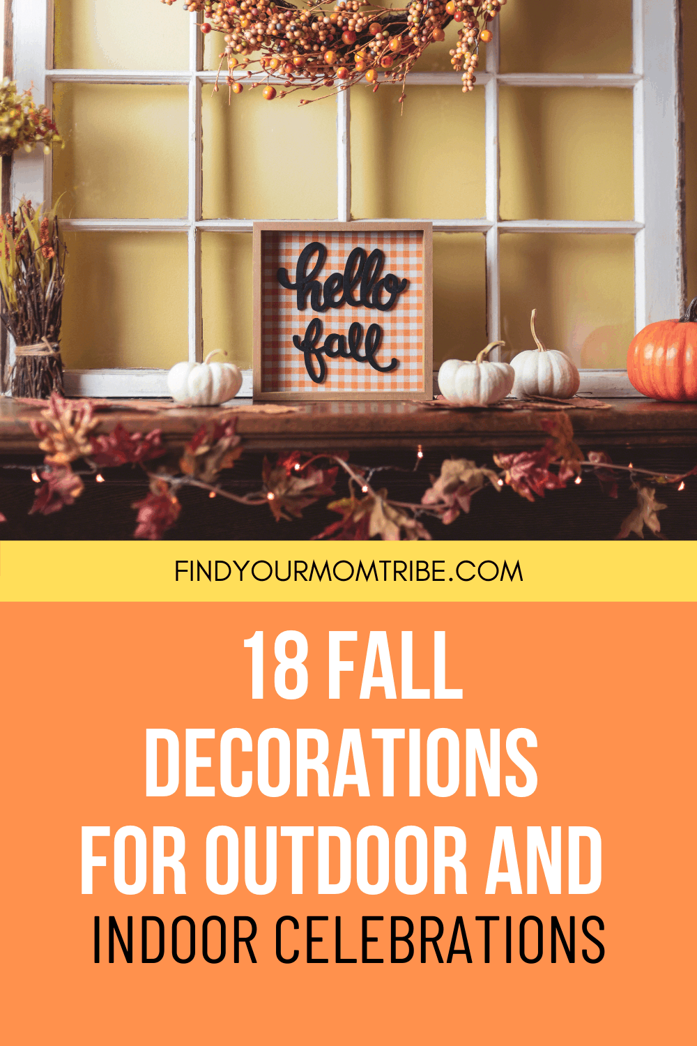 Pinterest fall decorations