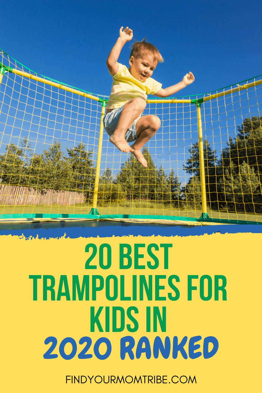 Pinterest best trampoline for kids